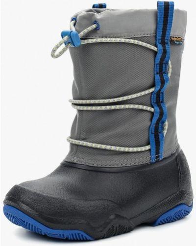 Ботинки серые Crocs