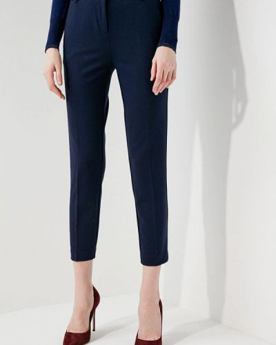 Синие зауженные брюки Pinko