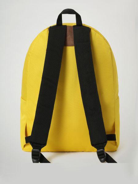 Желтый рюкзак на молнии с карманами Napapijri