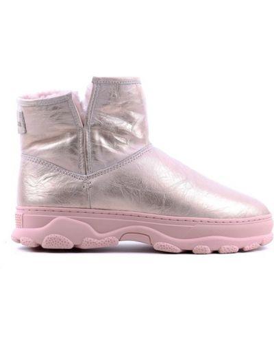 Угги - розовые Sasha Fabiani