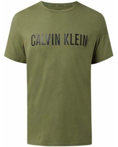 Piżama bawełniana - zielona Calvin Klein Underwear