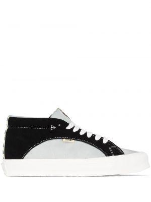 Czarny włókienniczy sneakersy Vans