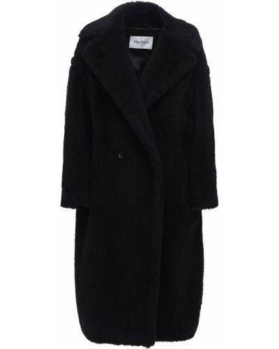Шерстяное пальто на пуговицах с лацканами Max Mara