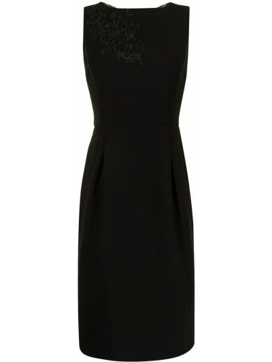 Черное платье без рукавов Dolce & Gabbana