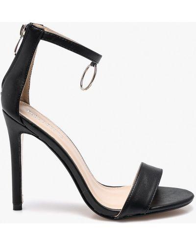Черные туфли на высоком каблуке Public Desire