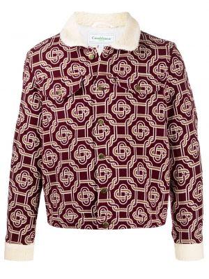 Длинная куртка - красная Casablanca