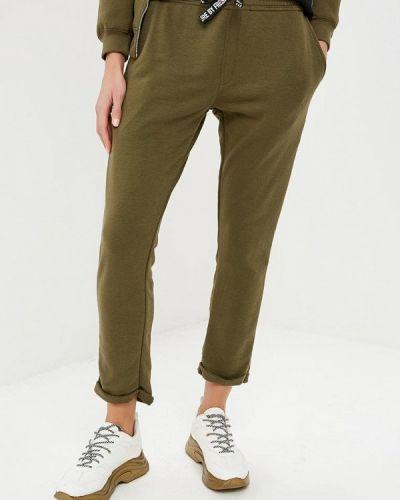 Спортивные брюки зеленый хаки Fresh Brand
