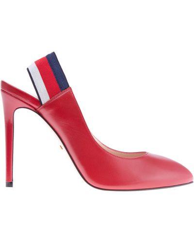 Туфли-лодочки на широкую ногу на каблуке Gucci
