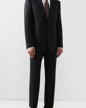 Костюм деловой приталенный шерстяной Tom Ford