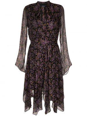 Платье макси длинное - фиолетовое Polo Ralph Lauren