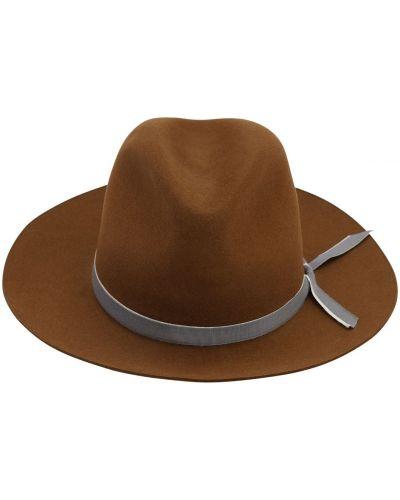 Шляпа с широкими полями фетровая шляпа-федора Superduper