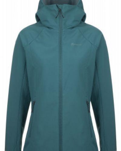 Прямая зеленая куртка мембранная на молнии Outventure
