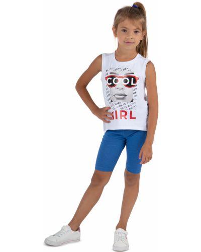 Брендовые синие шорты Leader Kids