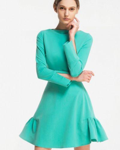 Зеленое платье весеннее Grass
