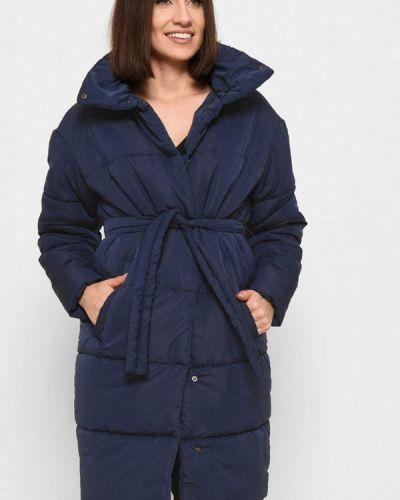 Утепленная куртка - синяя Carica&x-woyz
