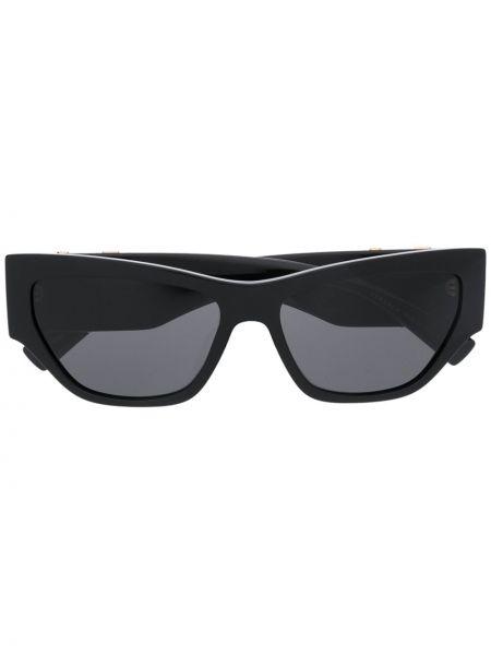 Солнцезащитные очки черные желтый Versace Eyewear