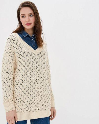 Пуловер бежевый Sela