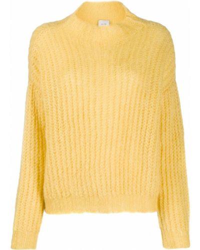 Джемпер в полоску желтый Alysi