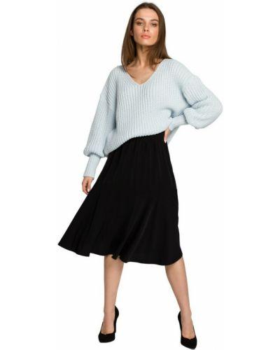 Spódnica z falbanami - czarna Style