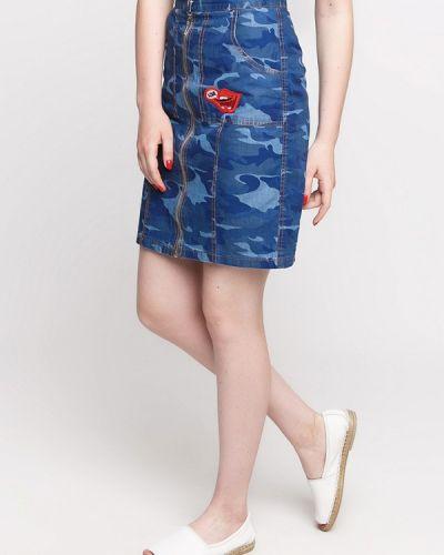 Синяя джинсовая юбка Dasti