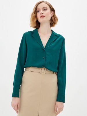 Зеленая блузка с длинными рукавами Rivadu