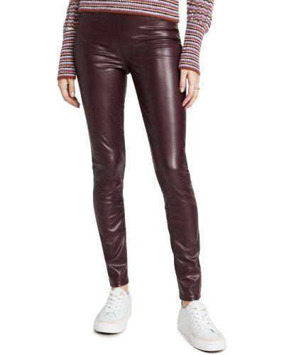 Spodnie rurki - bordowe Rag & Bone