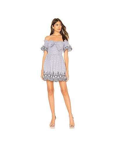 Платье с вышивкой с бантом J.o.a.