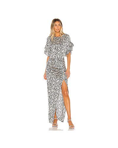 Платье макси купальное на молнии Acacia Swimwear
