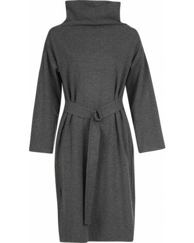 Шерстяное платье - серое Joseph
