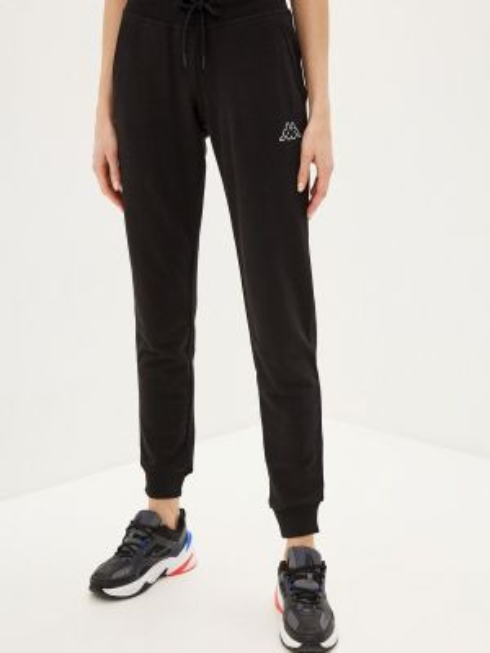 Спортивные брюки черные весенний Kappa