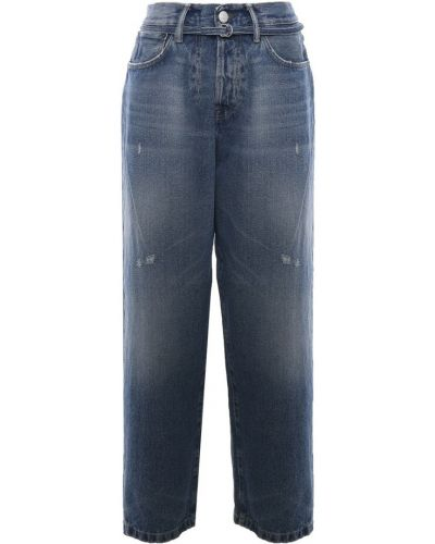 Mom jeans - niebieskie Acne Studios