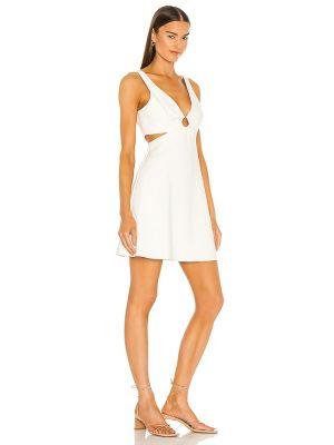 Biała sukienka srebrna Likely