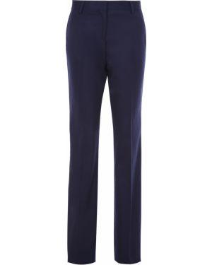 Шерстяные классические брюки - синие Paul&shark