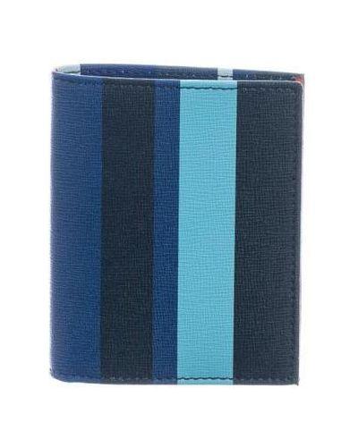 Niebieski portfel Gallo
