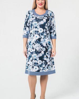 Платье с цветочным принтом платье-сарафан Luxury