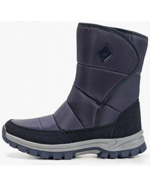 Ботинки осенние синий Baden
