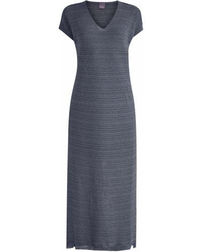 Платье макси с V-образным вырезом футболка Lorena Antoniazzi