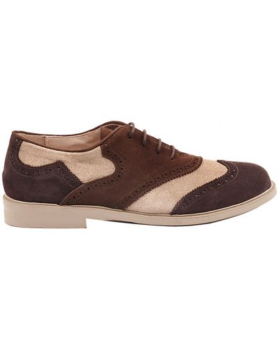Туфли коричневый замшевый Gallucci