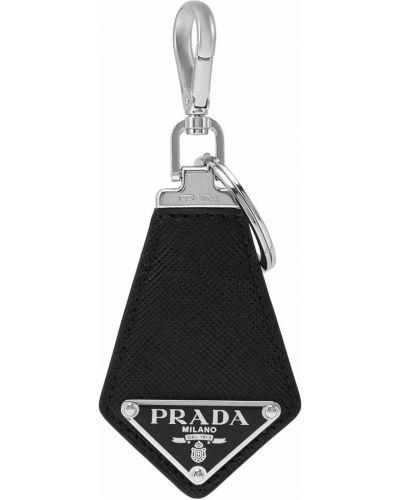 Брелок черный красный Prada