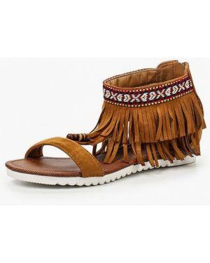 Коричневые сандалии Fersini