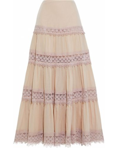 Хлопковая юбка макси Charo Ruiz Ibiza