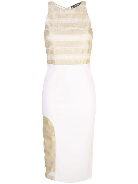 Платье без рукавов со шлицей с вырезом на молнии Haney
