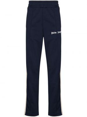 Spodnie z printem - niebieskie Palm Angels