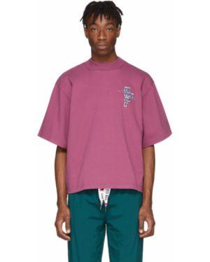 Черная рубашка с короткими рукавами с воротником с вышивкой Reebok By Pyer Moss