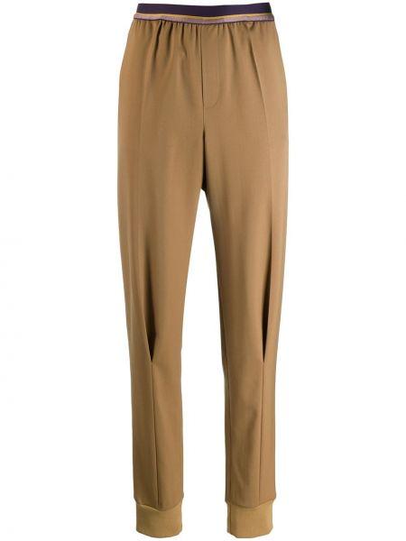 Деловые брюки с поясом с манжетами узкого кроя A.f.vandevorst