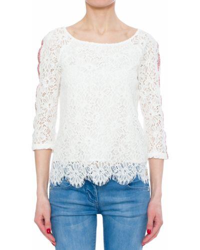 Белая блузка хлопковая Patrizia Pepe
