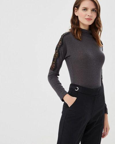 Блузка черная Арт-Деко