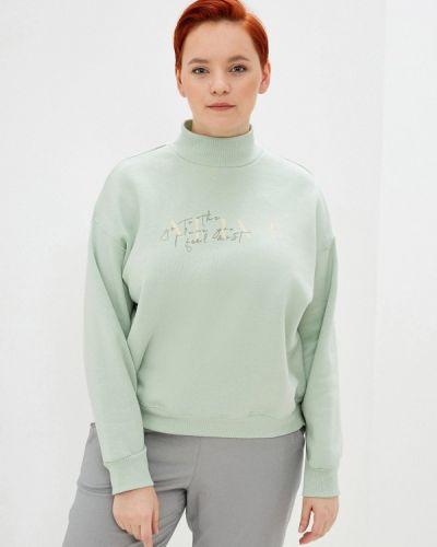 Зеленый свитшот Befree