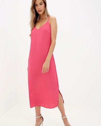 Платье осеннее розовое Imocean