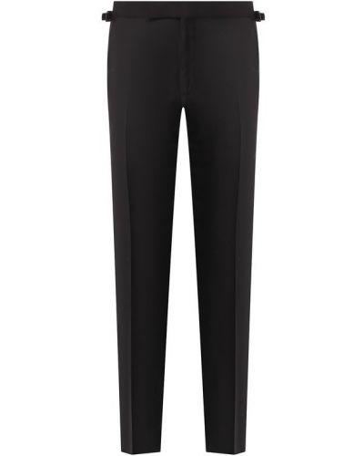 Классические брюки с карманами с лампасами Tom Ford